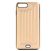 Для Покрытие Кейс для Задняя крышка Кейс для Один цвет Твердый Металл для AppleiPhone 7 Plus / iPhone 7 / iPhone 6s Plus/6 Plus / iPhone