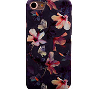 Para Estampada Capinha Capa Traseira Capinha Flor Rígida PC para Apple iPhone 7 Plus / iPhone 7 / iPhone 6s Plus/6 Plus / iPhone 6s/6