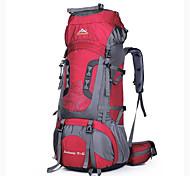 75 L Заплечный рюкзак Водонепроницаемость Пригодно для носки Дышащий