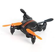 Drone 4CH 6 Eixos 2.4G Com Câmera Quadcópero com CRIluminação De LED Auto-Decolagem Seguro Contra Falhas Modo Espelho Inteligente Vôo