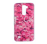 Para Diseños Funda Cubierta Trasera Funda Flor Suave TPU para LG LG K10 LG K8 LG K7 LG G5 LG G4 LG G3 LG V20 LG V10