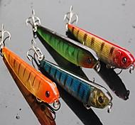 "1 pcs Hard Bait / Fishing Lures Hard Bait Assorted Colors 9 g/1/3 oz. Ounce mm/3-1/2"" inch,Hard Plastic Bait Casting / General Fishing"
