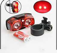 Rear Bike Light / Safety Lights LED - Cycling Waterproof AAA 80 Lumens Battery Cycling/Bike-XIE SHENG