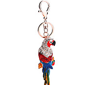 Key Chain Bird Key Chain / Gleam Metal