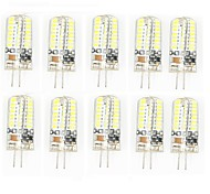 10 Pcs Con Cable Others G4 64 led Sme3014 5W AC220-240 v 950 lm Warm White Cold White Double Pin Waterproof Lamp Other