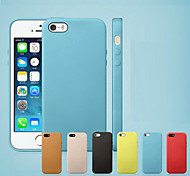 Pour Coque iPhone 7 Coques iPhone 7 Plus Coque iPhone 6 Coques iPhone 6 Plus Coque iPhone 5 Antichoc Coque Coque Arrière CoqueCouleur