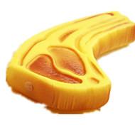 Dog Toy Pet Toys Chew Toy Bone Yellow Plastic