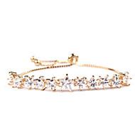 Femme Chaînes & Bracelets Cristal Mode Simple Style Le style mignon Zircon Forme d'Etoile Bijoux Pour Quotidien