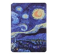 Для Бумажник для карт Оригами Кейс для Чехол Кейс для Пейзаж Твердый Искусственная кожа для Apple iPad Air 2 iPad Air