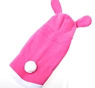 Кошка Собака Костюмы Плащи Толстовки Одежда для собак Очаровательный Сохраняет тепло Носки детские Розовый