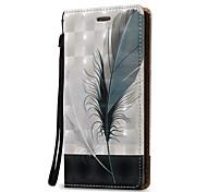 Для примечания галактики Samsung 5 примечание 4 крышка случая 3d перо твердая кожа pu для примечания 3