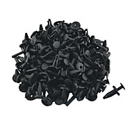 K087 100 Pcs Auto Car 5mm Hole Plastic Rivets Bumper Door Fastener Push Clips