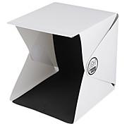 nieuwste draagbare mini fotostudio box fotografie achtergrond ingebouwde licht fotodoos