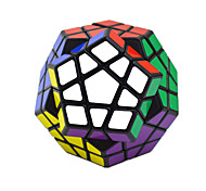 Toys Smooth Speed Cube Alien Novelty Stress Relievers Magic Cube Black ABS Plastic