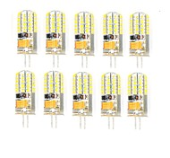 10 Pcs Con filo Others G4 48 led Smd 2835 3W AC DC12v 850 lm Warm White Cold White Double Pin Waterproof Lamp Other