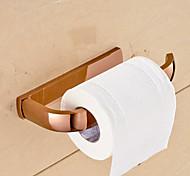 Держатель для туалетной бумаги Карбонитрид титана Крепление на стену 7.9*3.5*1.1 inch Медь Современный