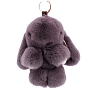 Key Chain Key Chain Gray Metal / Plush