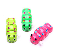 Wind-up Toy Novelty Toy Toys Novelty Plastic Green Pink Yellow For Boys For Girls Random Color