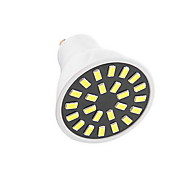 5W GU10 Decoration Light  24LED SMD 5733 350LM-400LM lm Warm White / Cool White AC110 / AC220 V 1 pcs