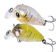 "1 pcs Hard Bait / Soft Bait / Fishing Lures Hard Bait Assorted Colors 3.6 g/1/8 oz. Ounce mm/1-3/4"" inch,Hard PlasticBait Casting /"