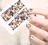 1pcs Flower Water Transfers Nail Art Stickers Foil Manicure Decals Decoration DIY Nail Tools