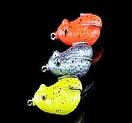 """1 pcs Señuelos duros Cebos Señuelos duros Colores Surtidos 10 g/3/8 5/8 Onza mm/2-1/8"""" pulgada,Plástico duroPesca de baitcasting Pesca en"""