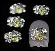 10pcs Mix Rhinestone Group Glitter DIY Alloy Accessories Nail Art Decoration
