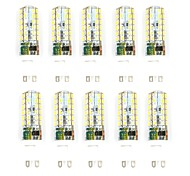 10 PCS Con Cable Others G9  Smd2835 48Led 3 w AC85 - 265 v 1000 lm Warm White Cold White Double Pin Waterproof Other