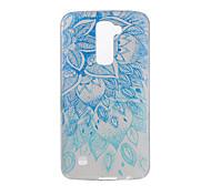 For LG V20 V10 K10 K8 K7 G5 G4 G3 Case Cover Mandala Pattern Back Cover Soft TPU