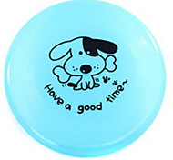 Dog Toy Pet Toys Flying Disc Plate Green Blue Pink Yellow Plastic
