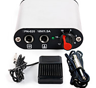 Mini Power tattoo kit supply Foot Pedal Clip Cord for machine kit P162-4