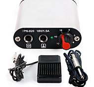 Mini energias tatuagem cabo de clipe de pedal de abastecimento kit para p162-4 kit máquina