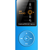 MP3 WMA WAV OGG FLAC APE AAC Batteria ricaricabile Li-ion