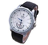 Heren Dames Sporthorloge Dress horloge Modieus horloge Kwarts LED Kleurrijk Echt leer Band Vrijetijdsschoenen Meerkleurig Merk