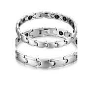 Herrn Damen Ketten- & Glieder-Armbänder Stahl Schmuck Silber Schmuck Für Normal 1 Stück