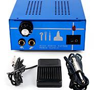 Tattoo Professional Kit Dual Machine  Tattoo Power Supply  clip cord foot pedal P131-2