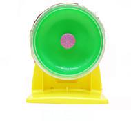 Грызуны Колесо для упражнений Водонепроницаемость Пластик Зеленый