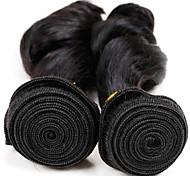 Tejidos Humanos Cabello Cabello Hindú Ondulado Pequeño 12 meses los tejidos de pelo