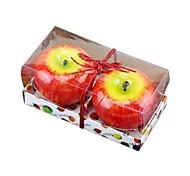 maçã velas simulação de natal