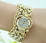 Women's Fashion Braided Alloy Bracelet Watch