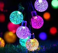 Solar Ball Light String / Landscape Courtyard Lighting