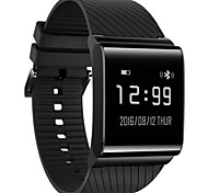 IP67 Waterproof Surface All Touch Screen Blood Pressure Heart Rate Monitoring Step By Step Motion Tracking Smart Bracelet Compatible IOS Android