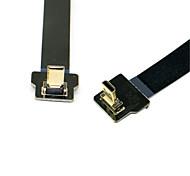 Cy® HDMI Micro-HDMI Micro vergoldet Kabel 1080P 0.1m (0.3Ft)