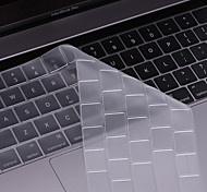 beiyo protector del teclado (TPU) para el macbook air13pro 13 15macbook 12 ultrafina transparencia de polvo impermeable