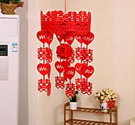 свадьба поставок нетканое привет брак комнате украшают дворец фонарь венок корзины свадьба фонарь кулон