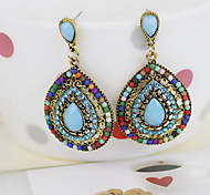 Drop Earrings Jewelry Resin Blue Jewelry For Daily Casual 1 pair