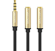 VENTION® Jack 3.5mm Mic Headphone Splitter Audio Cable Gold-Plated 3.5 mm Jack Aux Cable Cord for Computer Microphone Cellphone