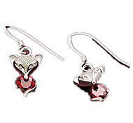 Drop Earrings Crystal Sterling Silver Silver Jewelry Daily 1 pair