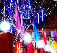 8Pcs  30Cm  Of  Led Lights Tubes  Meteor Shower Rain Tubes Led Lights Wedding Party Garden Xmas String Light Outdoor
