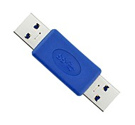 High Speed USB 3.0 A Male to A Male Adapter USB3.0 AM to AM Coupler Connector Extender Converter